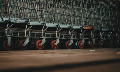 secteur retail : lot de chariots